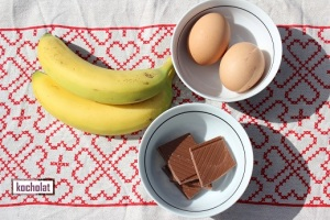 plátanos, huevos, chocolates